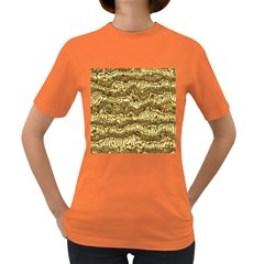 Alien Skin Hot Golden Women s Dark T Shirt by ImpressiveMoments
