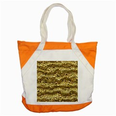 Alien Skin Hot Golden Accent Tote Bag  by ImpressiveMoments