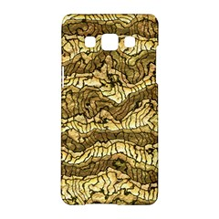 Alien Skin Hot Golden Samsung Galaxy A5 Hardshell Case  by ImpressiveMoments