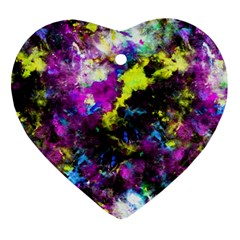 Colour Splash G264 Ornament (heart)  by MedusArt