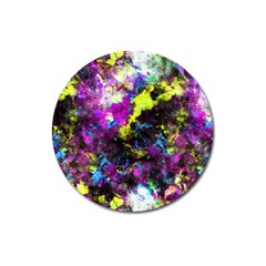 Colour Splash G264 Magnet 3  (round) by MedusArt