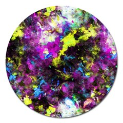 Colour Splash G264 Magnet 5  (round) by MedusArt