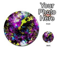 Colour Splash G264 Multi Purpose Cards (round)  by MedusArt