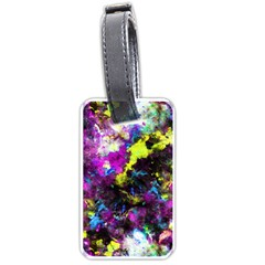 Colour Splash G264 Luggage Tags (two Sides) by MedusArt
