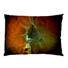 Beautiful Abstract Floral Design Pillow Cases
