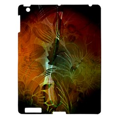 Beautiful Abstract Floral Design Apple Ipad 3/4 Hardshell Case by FantasyWorld7