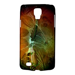 Beautiful Abstract Floral Design Galaxy S4 Active by FantasyWorld7