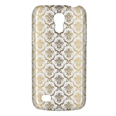 Gold Tones Vintage Floral Damasks Pattern Galaxy S4 Mini by Dushan