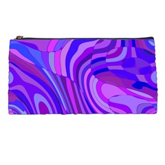 Retro Abstract Blue Pink Pencil Cases by ImpressiveMoments