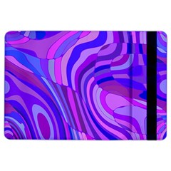Retro Abstract Blue Pink Ipad Air 2 Flip by ImpressiveMoments