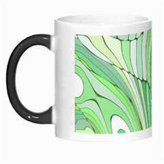 Retro Abstract Green Morph Mugs by ImpressiveMoments