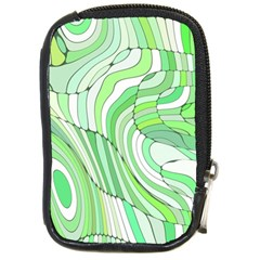 Retro Abstract Green Compact Camera Cases by ImpressiveMoments
