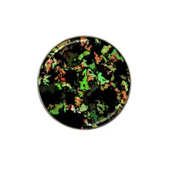 Splatter Red Green Hat Clip Ball Marker (4 Pack) by MoreColorsinLife