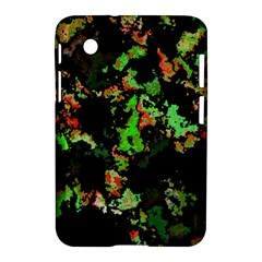 Splatter Red Green Samsung Galaxy Tab 2 (7 ) P3100 Hardshell Case  by MoreColorsinLife