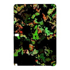Splatter Red Green Samsung Galaxy Tab Pro 10 1 Hardshell Case by MoreColorsinLife