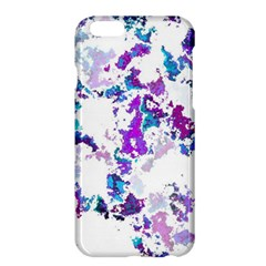 Splatter White Lilac Apple Iphone 6 Plus/6s Plus Hardshell Case by MoreColorsinLife