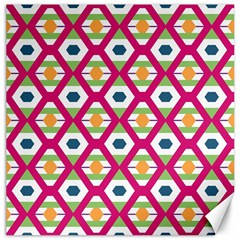 Honeycomb In Rhombus Pattern Canvas 12  X 12