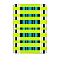 Rectangles And Vertical Stripes Pattern Samsung Galaxy Tab 2 (10 1 ) P5100 Hardshell Case  by LalyLauraFLM