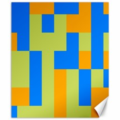 Tetris Shapes Canvas 8  X 10  by LalyLauraFLM