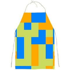 Tetris Shapes Full Print Apron by LalyLauraFLM