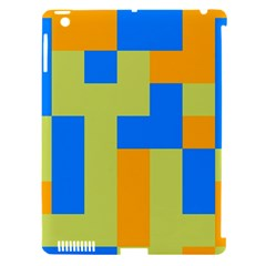 Tetris Shapes Apple Ipad 3/4 Hardshell Case (compatible With Smart Cover) by LalyLauraFLM