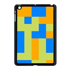 Tetris Shapes Apple Ipad Mini Case (black) by LalyLauraFLM