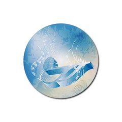 Music Rubber Coaster (round)