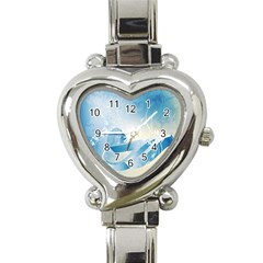 Music Heart Italian Charm Watch by FantasyWorld7