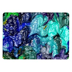 Strange Abstract 1 Samsung Galaxy Tab 10 1  P7500 Flip Case by MoreColorsinLife
