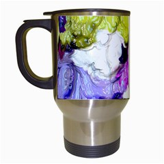Strange Abstract 2 Soft Travel Mugs (white) by MoreColorsinLife