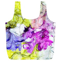 Strange Abstract 2 Soft Full Print Recycle Bags (l)  by MoreColorsinLife