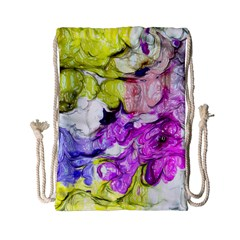 Strange Abstract 2 Soft Drawstring Bag (small)