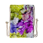 Strange Abstract 2 Soft Drawstring Bag (Small) Back