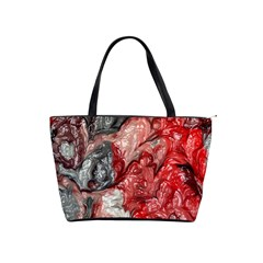Strange Abstract 3 Shoulder Handbags
