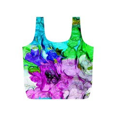Strange Abstract 4 Full Print Recycle Bags (s)  by MoreColorsinLife