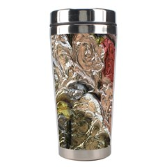 Strange Abstract 5 Stainless Steel Travel Tumblers by MoreColorsinLife