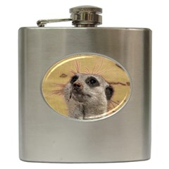 Meerkat 2 Hip Flask (6 Oz) by ImpressiveMoments