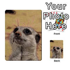 Meerkat 2 Multi Purpose Cards (rectangle)  by ImpressiveMoments