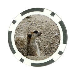 Adorable Meerkat Poker Chip Card Guards (10 Pack)  by ImpressiveMoments