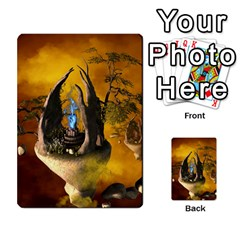 The Forgotten World In The Sky Multi Purpose Cards (rectangle)  by FantasyWorld7