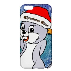 Funny Cute Christmas Mouse With Christmas Tree And Snowflakses Apple Iphone 6 Plus/6s Plus Hardshell Case by FantasyWorld7