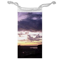 Sunset Over The Valley Jewelry Bags by canvasngiftshop