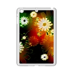Awesome Flowers In Glowing Lights Ipad Mini 2 Enamel Coated Cases by FantasyWorld7
