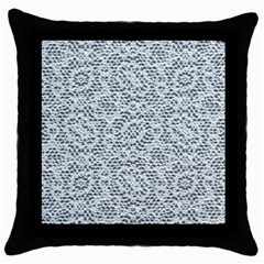 Bridal Lace Throw Pillow Cases (black)