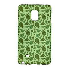 Vintage Paisley Green Galaxy Note Edge by MoreColorsinLife