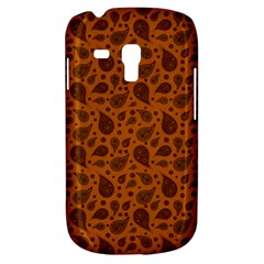 Vintage Paisley Terra Samsung Galaxy S3 Mini I8190 Hardshell Case by MoreColorsinLife