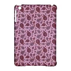 Vintage Paisley Pink Apple Ipad Mini Hardshell Case (compatible With Smart Cover) by MoreColorsinLife