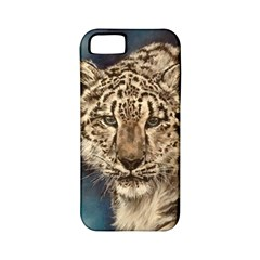 Snow Leopard Apple Iphone 5 Classic Hardshell Case (pc+silicone) by ArtByThree