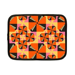 Windmill In Rhombus Shapes Netbook Case (small) by LalyLauraFLM