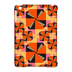 Windmill In Rhombus Shapes Apple Ipad Mini Hardshell Case (compatible With Smart Cover) by LalyLauraFLM
